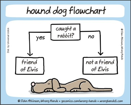 hound dog flow chart