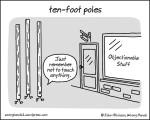 ten-foot poles