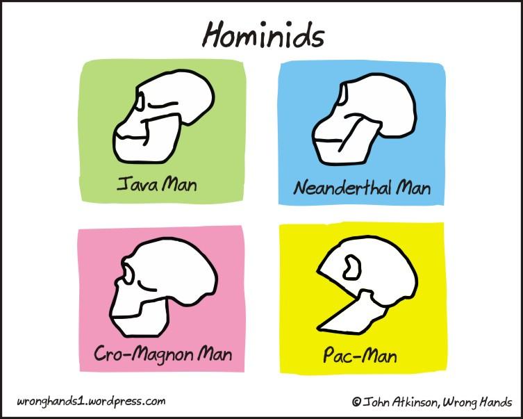 Hominids de John Atkinson