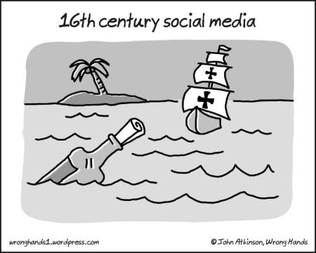 16th century social media
