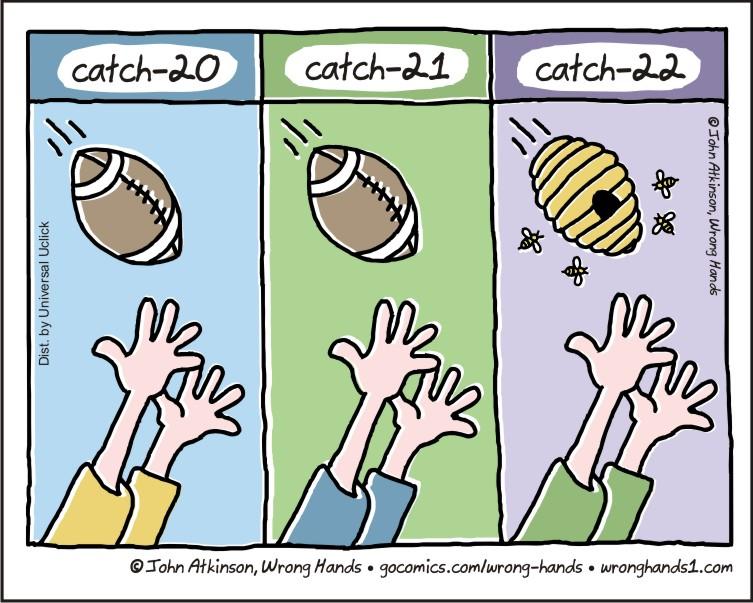 Catch 22 Wrong Hands
