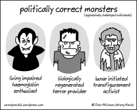 politically correct monsters