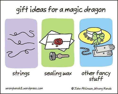 magic dragon gifts