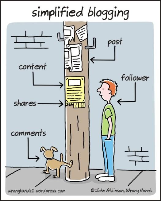 bloggin in a nutshell