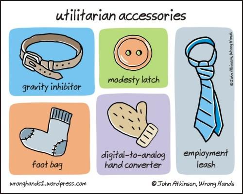 utilitarian accessories