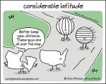 considerable latitude
