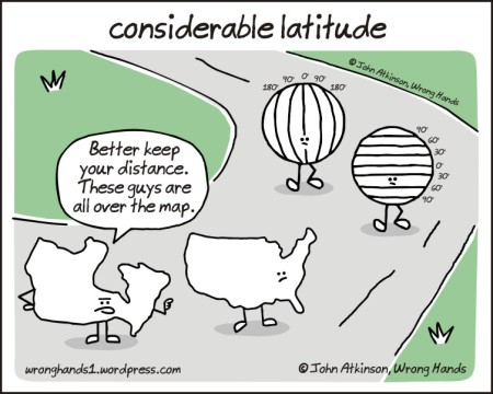 considerable latitude