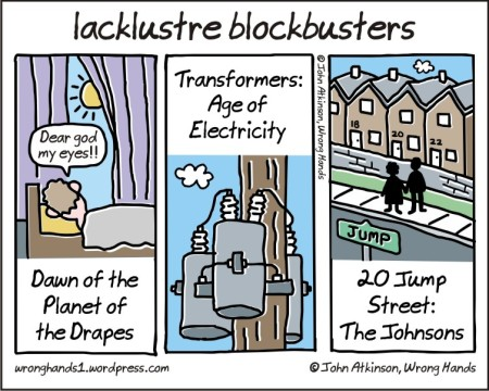 lacklustre blockbusters