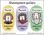 Shakespeare spoilers