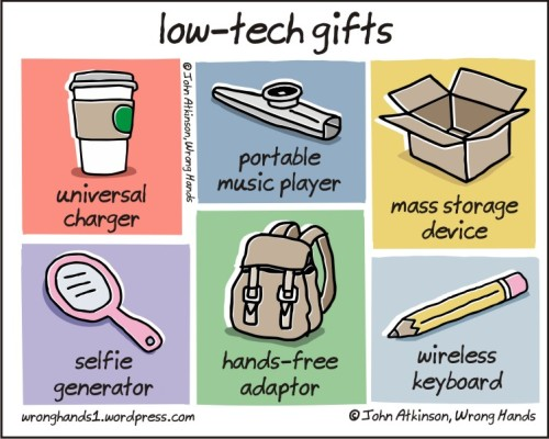 low-tech gifts