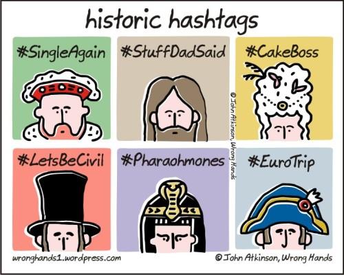 historic hashtags