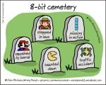 8-bit cemetery