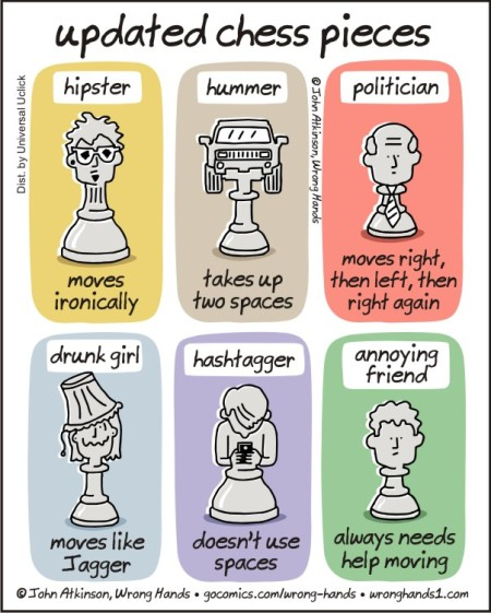 updated chess pieces