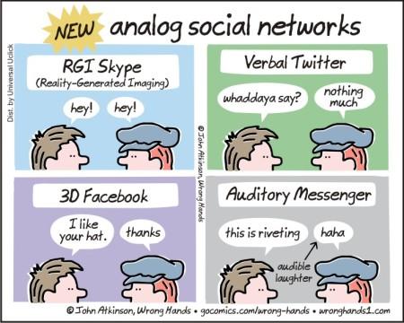 analog social networks