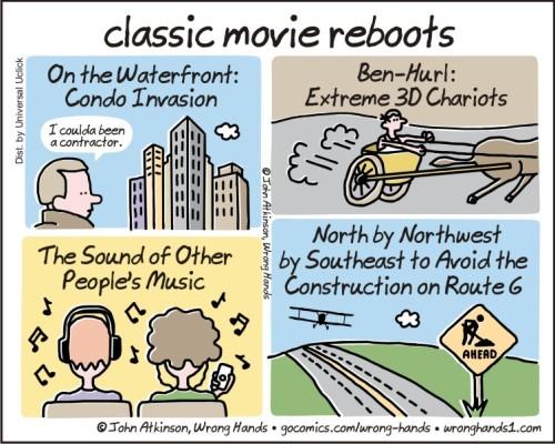 classic movie reboots