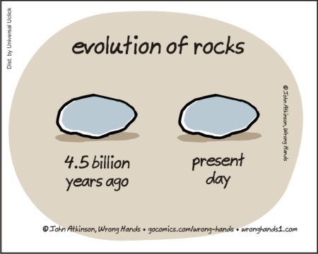 evolution of rocks