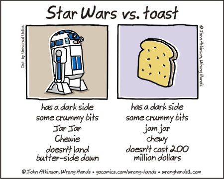 Star Wars vs toast