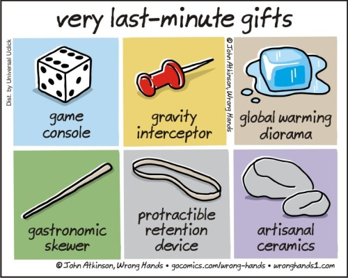 very last minute gifts
