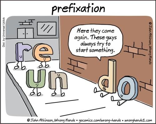 prefixation