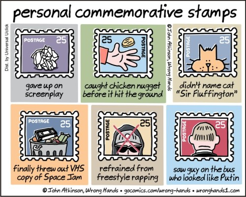 personal commemorative stamps