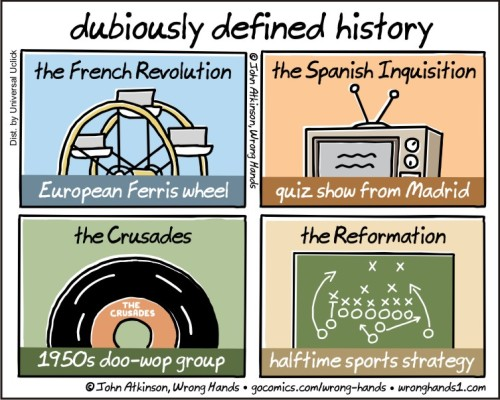 dubiously defined history