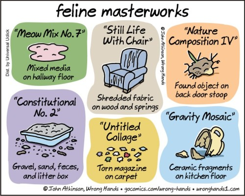 feline masterworks
