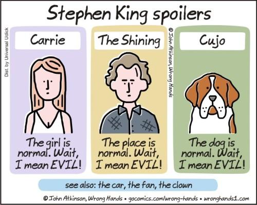 Stephen King spoilers
