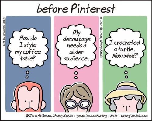 before Pinterest