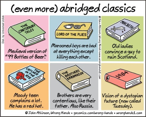 (even more) abridged classics