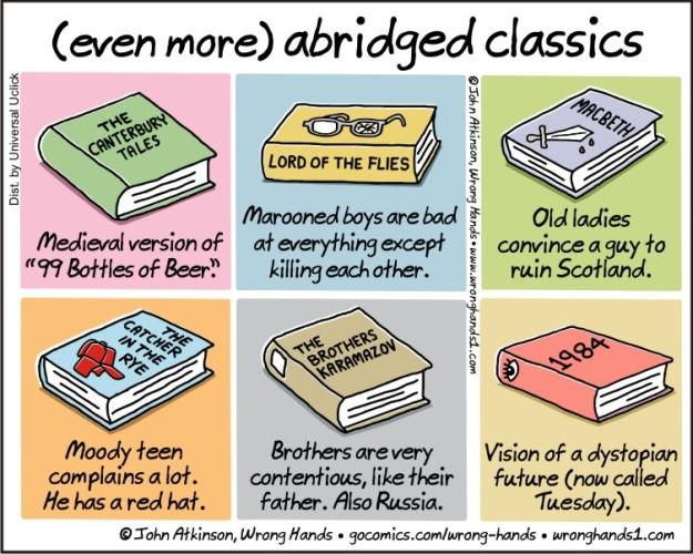 (even more) abridged classics