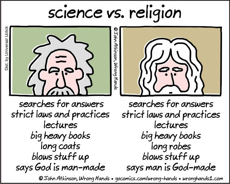 Image result for reconciling science and religion