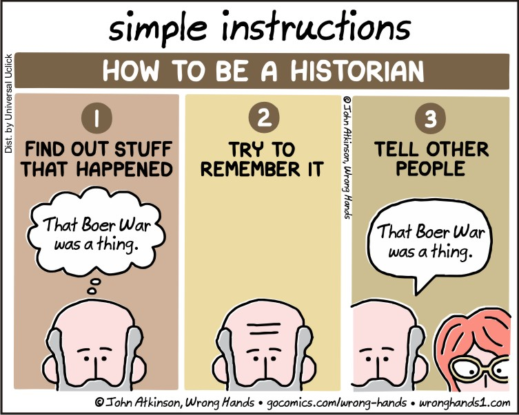 Simple Instructions Historian Wrong Hands