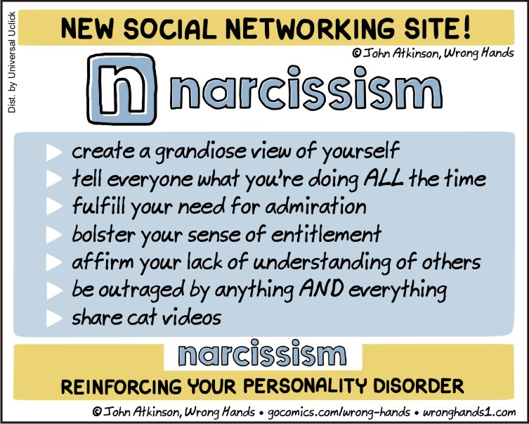whats wrong with being a narcissist