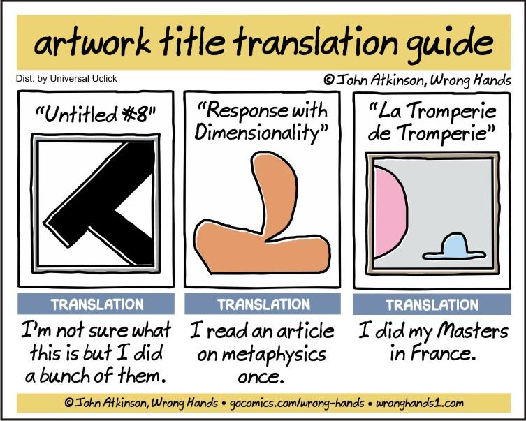 artwork title translation guide