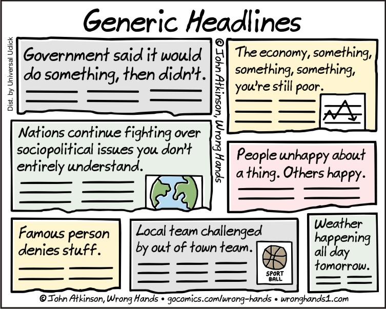 Generic Headlines