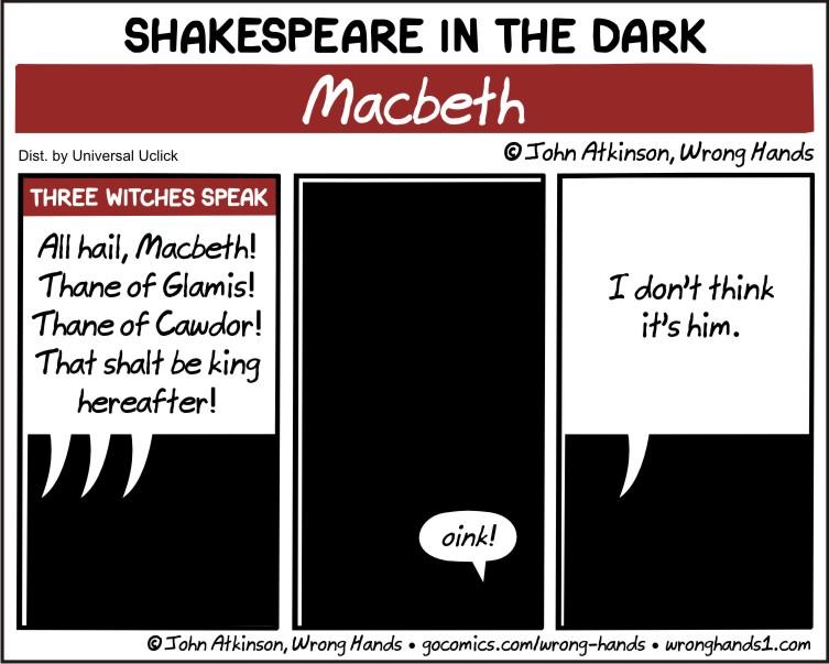 Shakespeare in the Dark – Macbeth