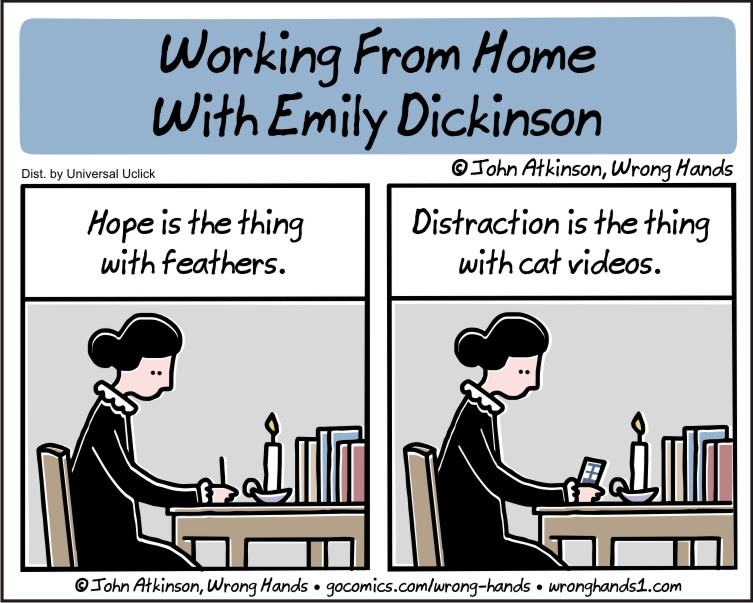 Working From Home With Emily Dickinson