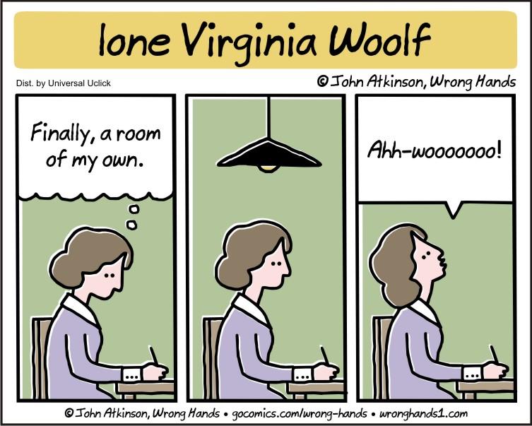 lone Virginia Woolf
