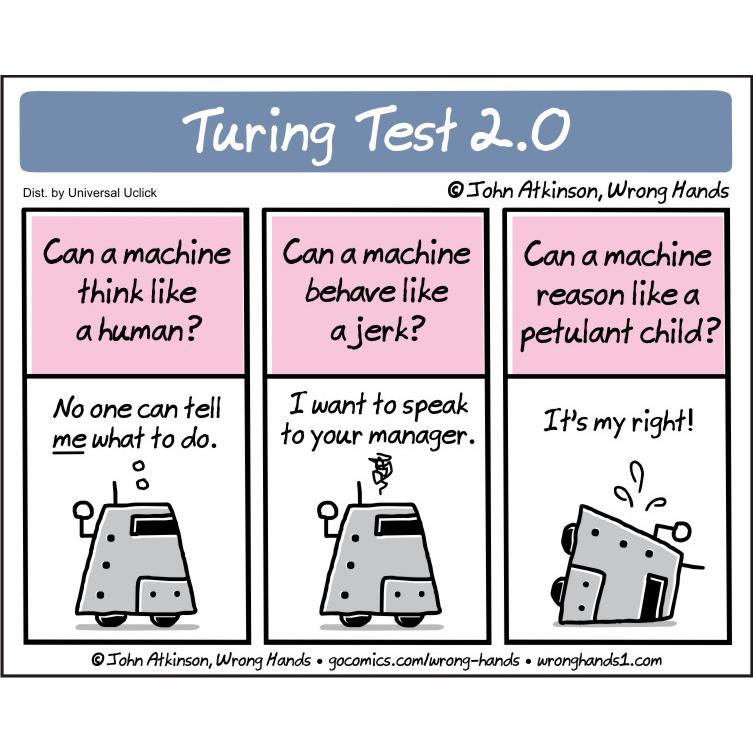 Turing Test 2.0