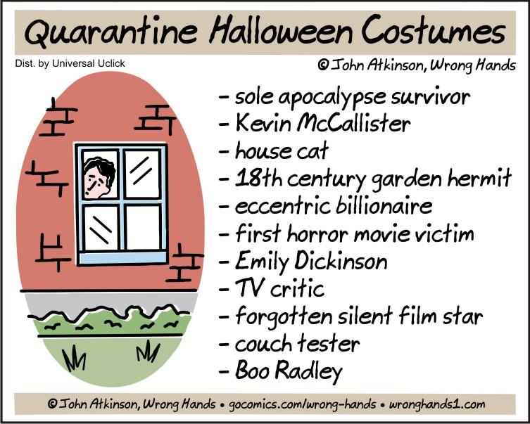 Quarantine Halloween Costumes