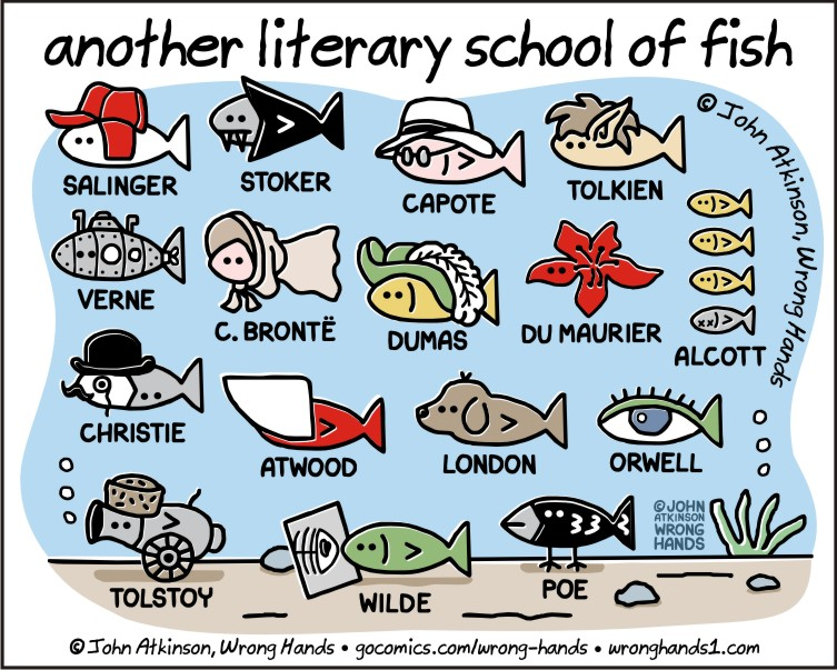 another literary school of fish