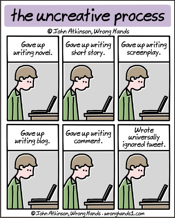 the uncreative process