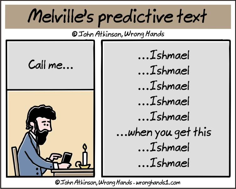 Melville's predictive text