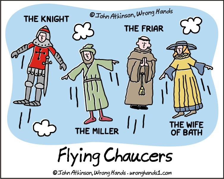 Flying Chaucers